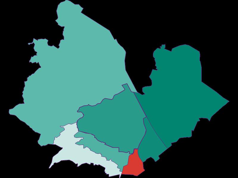 Прирост населения за 1869-2018   Wien 19.,Döbling