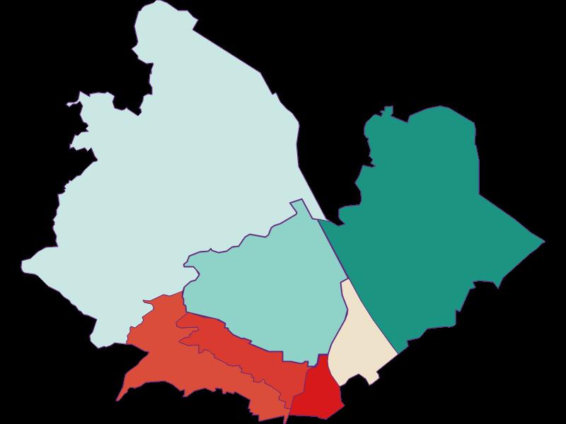 Population development since 1900 in Wien 19.,Döbling