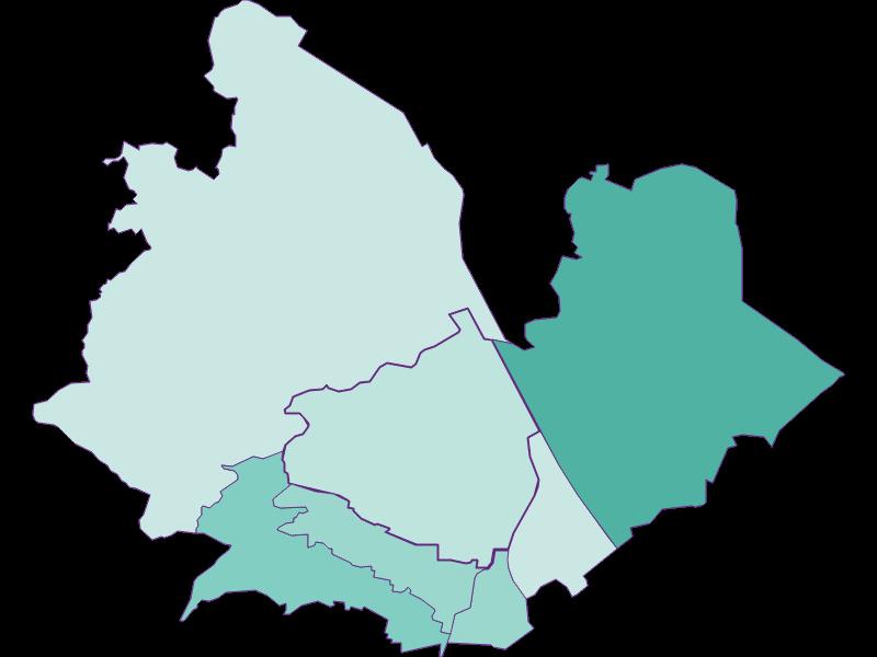 Population development since 2011 in Wien 19.,Döbling