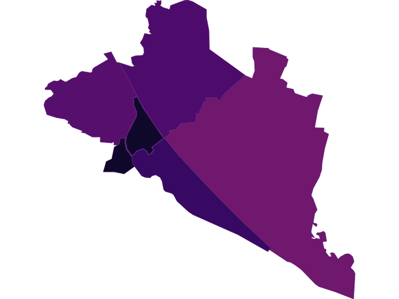 Population density in Wien 20.,Brigittenau