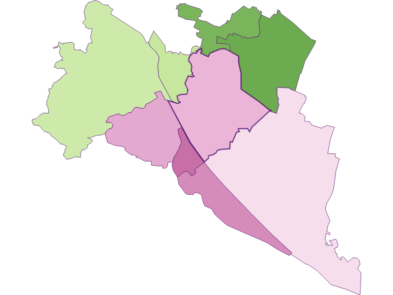Settlement in Wien 21.,Floridsdorf