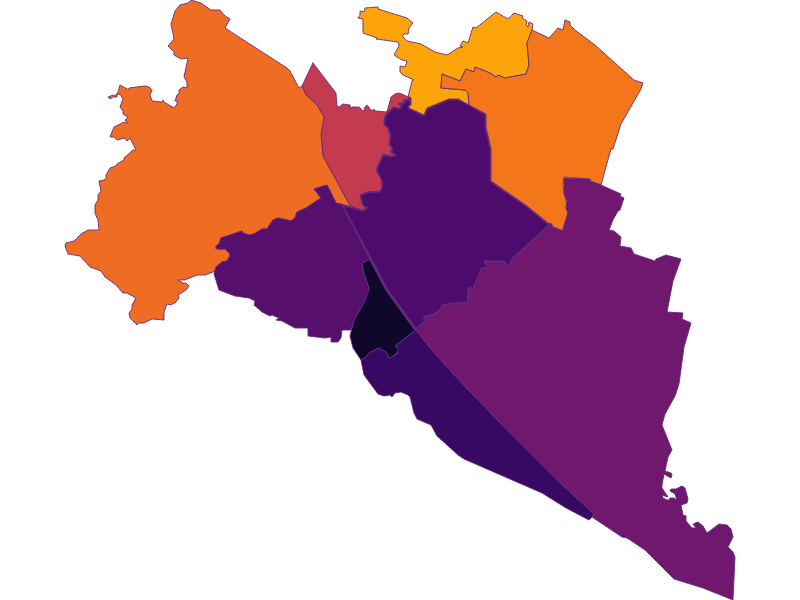 Population Density | Wien 21.,Floridsdorf