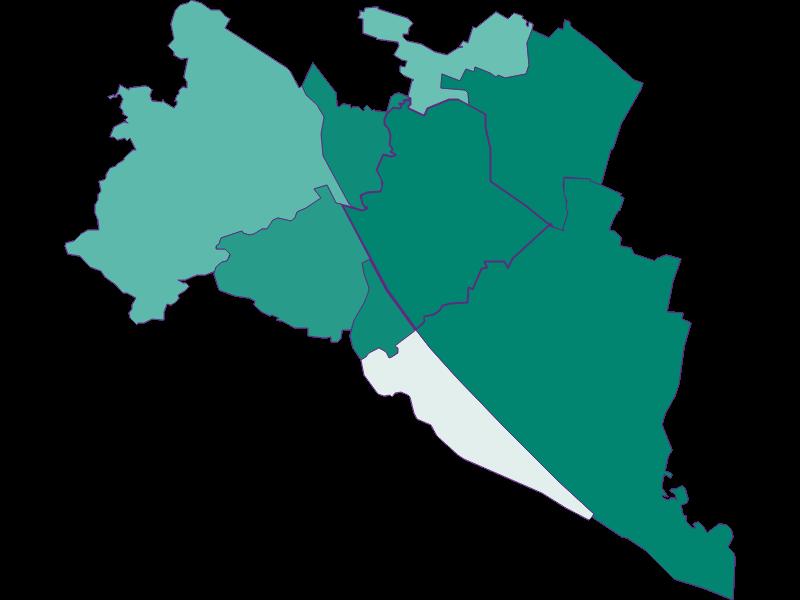 Bevölkerungsentwicklung seit 1869 | Wien 21.,Floridsdorf