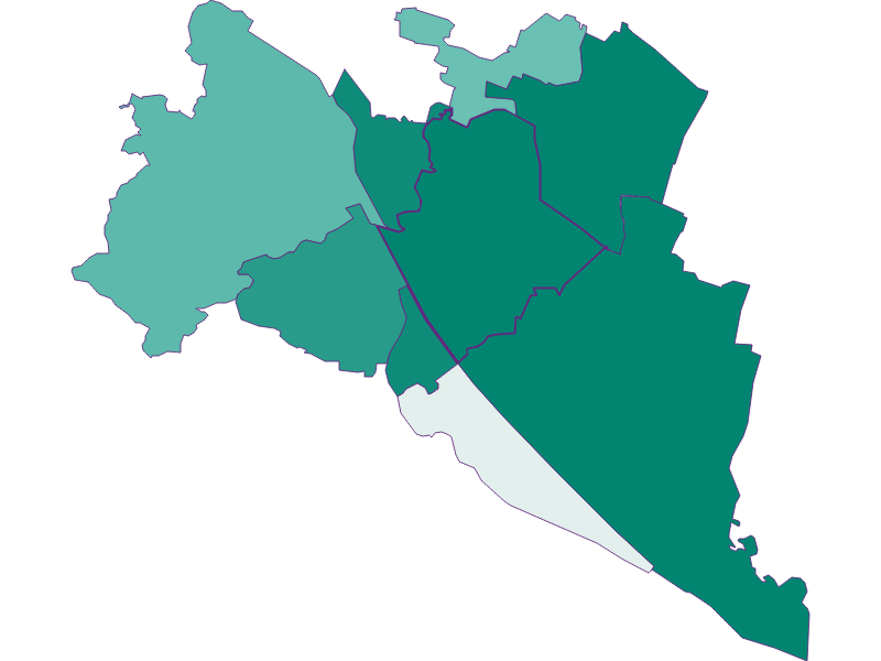 Прирост населения за 1869-2018 | Wien 21.,Floridsdorf