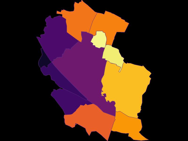 Population Density | Wien 22.,Donaustadt