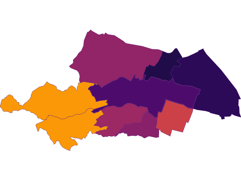 Population Density | Wien 23.,Liesing