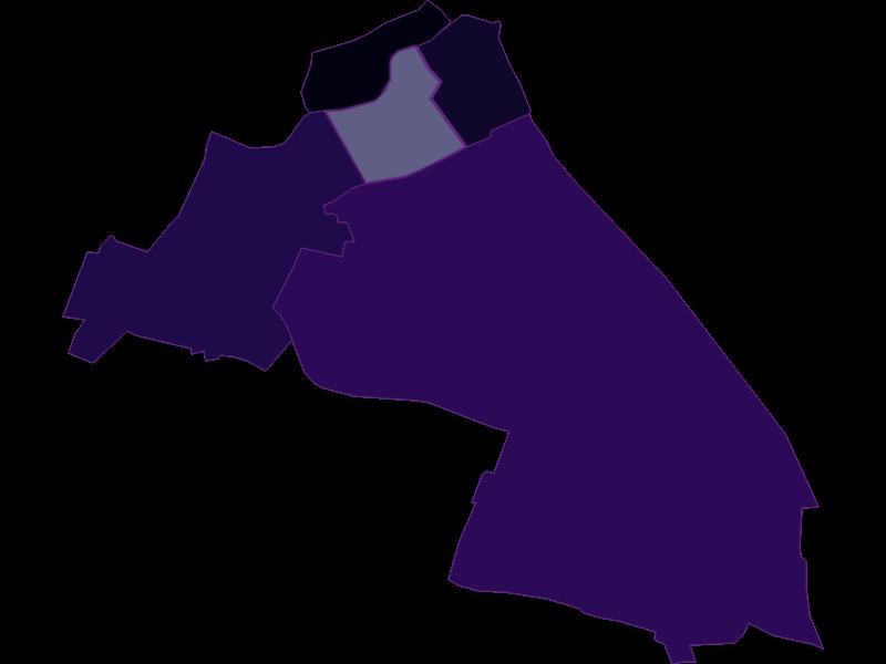 Population density in Wien  5.,Margareten