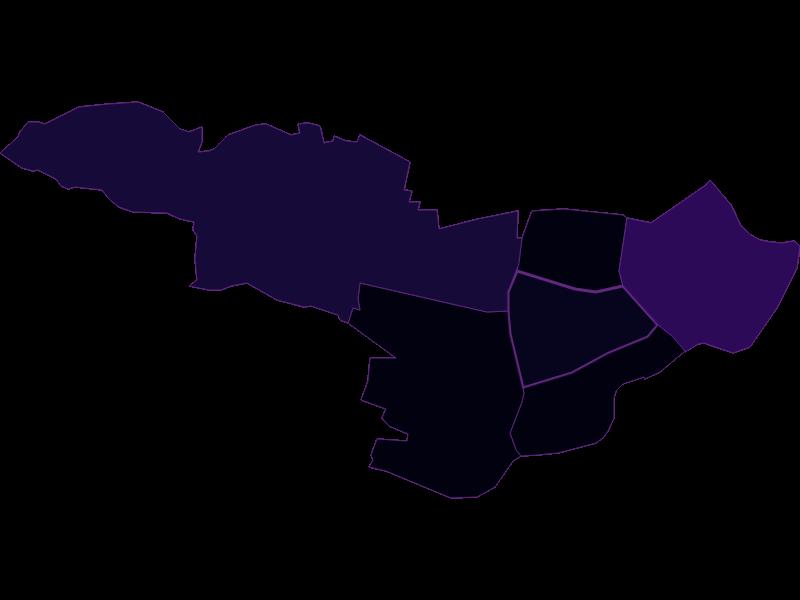 Bevölkerungsdichte: Wien  7.,Neubau - Österreich - Geographie, Wirtschaftskunde, Statistik | Similio