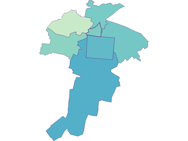 Share of foreigners in Felixdorf