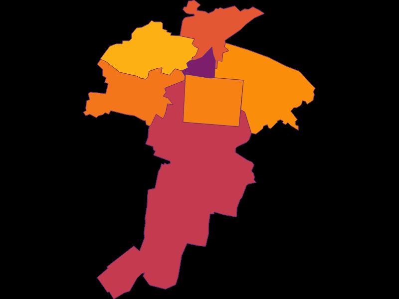 Population density in Felixdorf