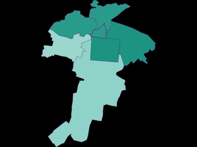 Population development since 1869 in Felixdorf