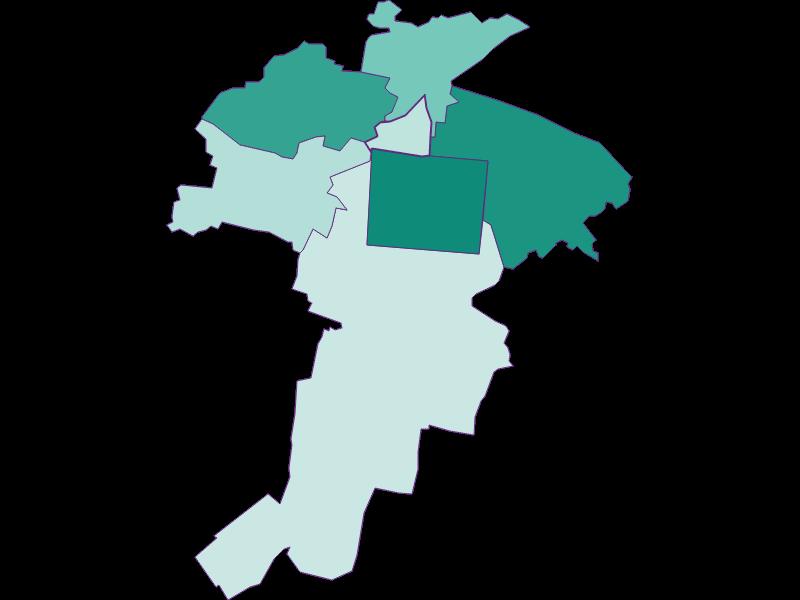 Population development since 1900 in Felixdorf