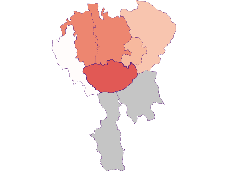 Activity rate in Hochneukirchen-Gschaidt