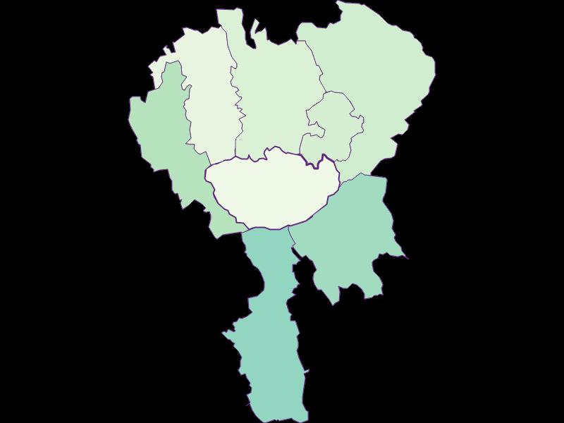 Share of foreigners in Hochneukirchen-Gschaidt
