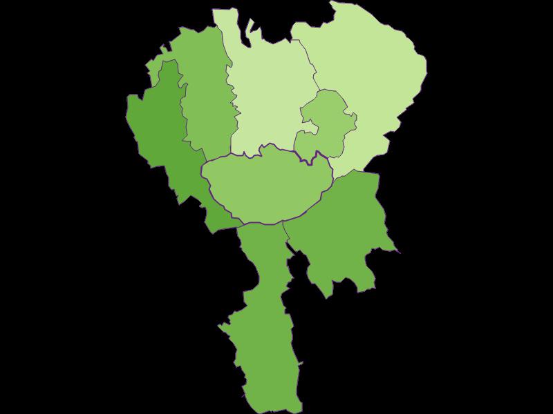 Settlement in Hochneukirchen-Gschaidt