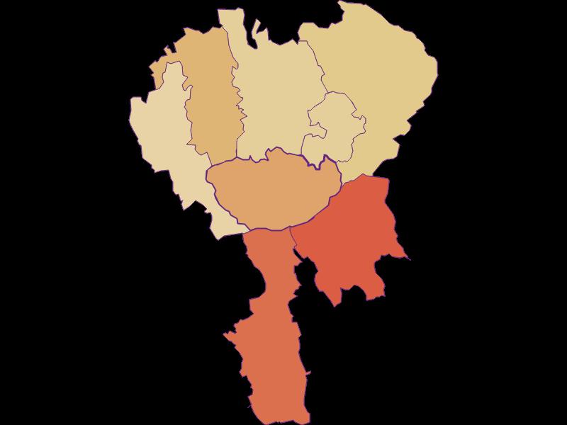 Population development since 1869 in Hochneukirchen-Gschaidt