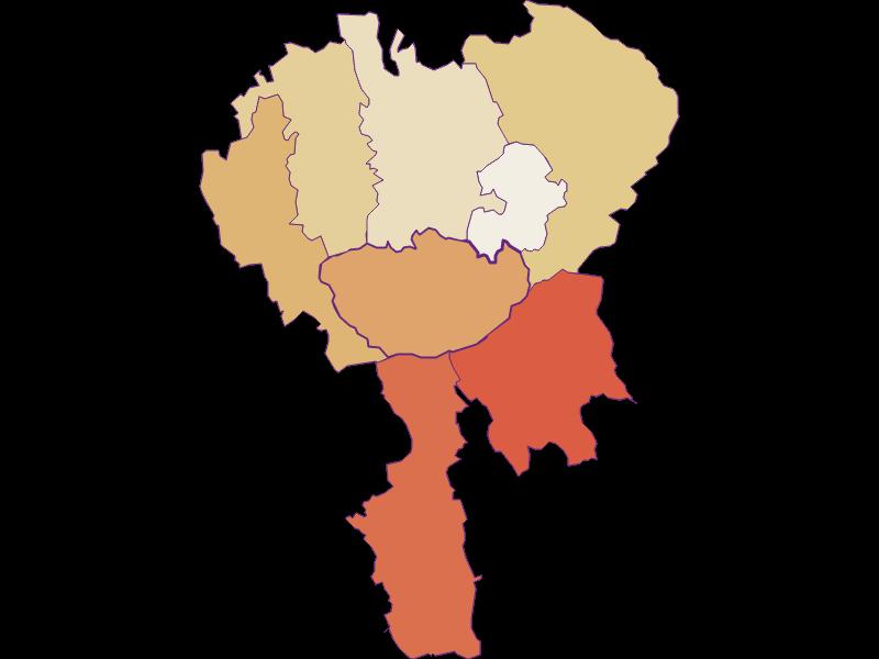 Population development since 1900 in Hochneukirchen-Gschaidt