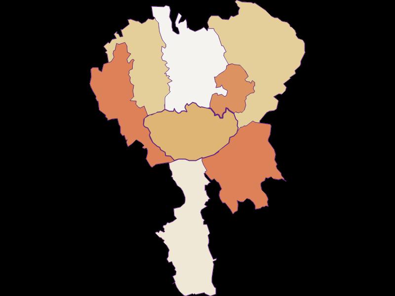 Population development since 2011 in Hochneukirchen-Gschaidt