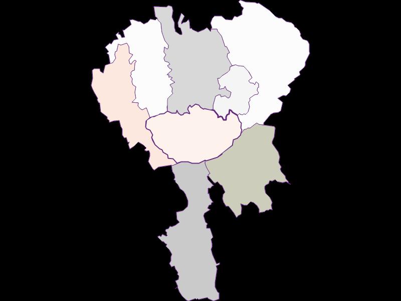 Farmers (comparison to federal state) in Hochneukirchen-Gschaidt