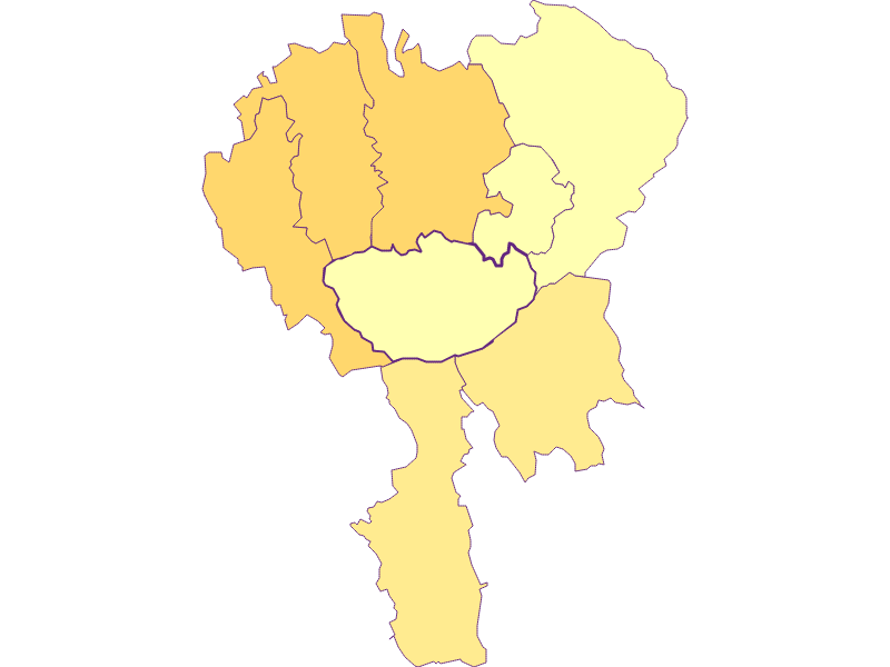 Urbanity in Hochneukirchen-Gschaidt