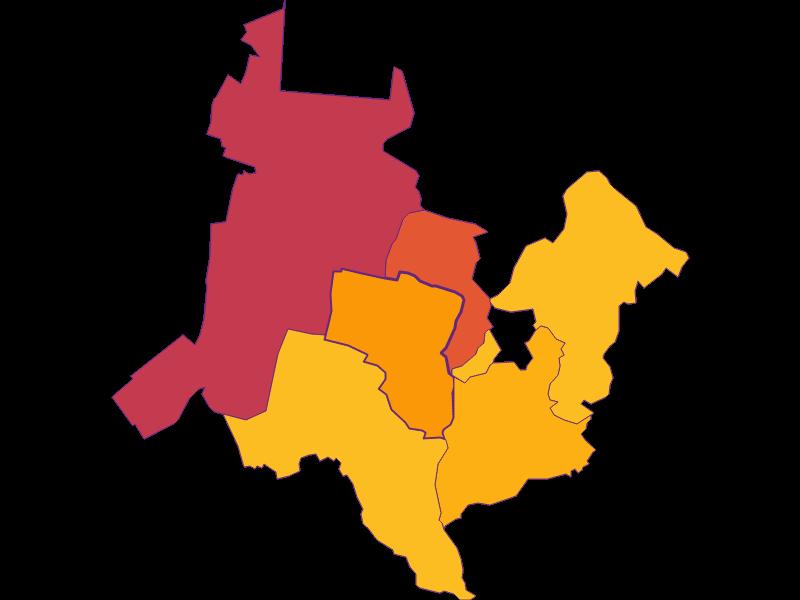 Population density in Katzelsdorf