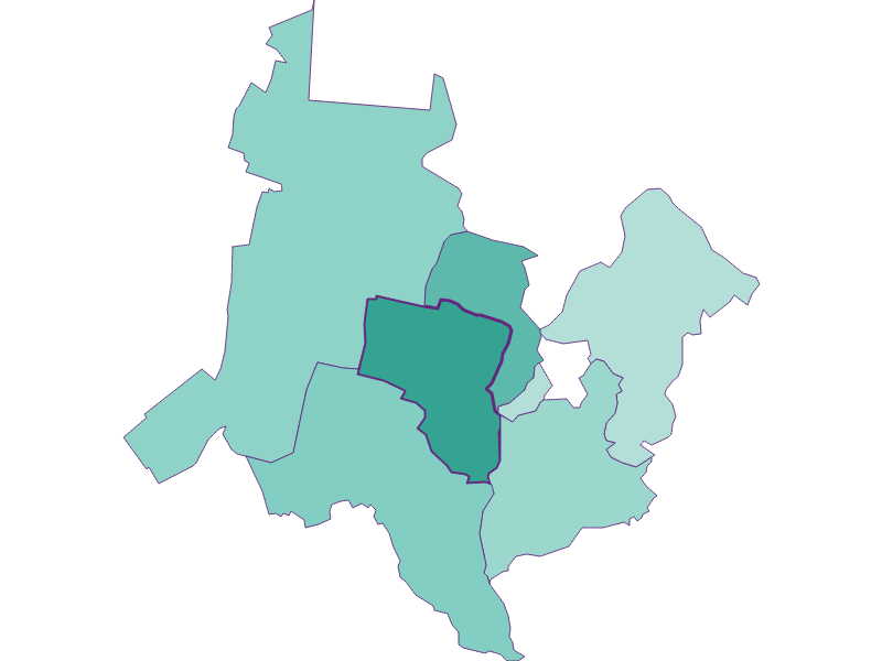Population development since 1869 in Katzelsdorf