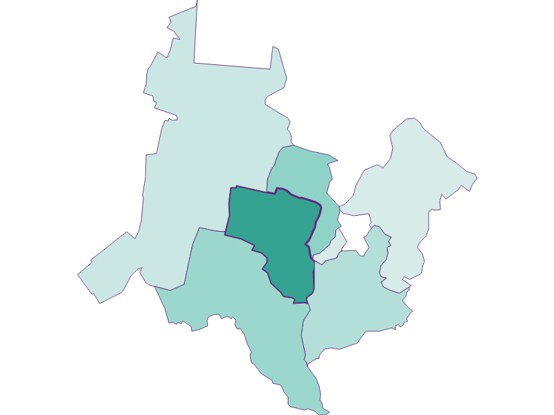 Population development since 1900 in Katzelsdorf