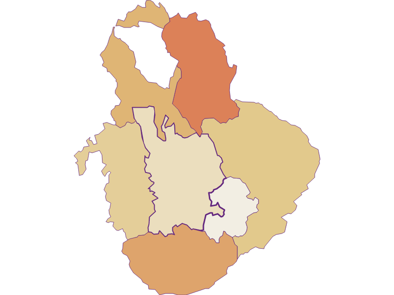 Population development since 1900 in Krumbach