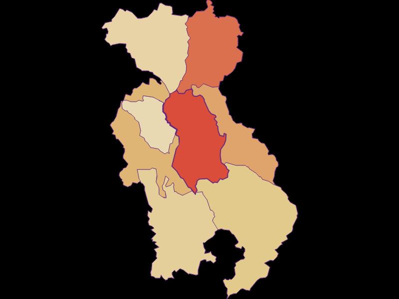 Population development since 1869 in Lichtenegg