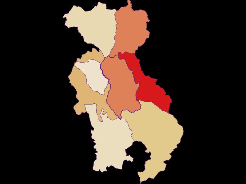 Population development since 1900 in Lichtenegg