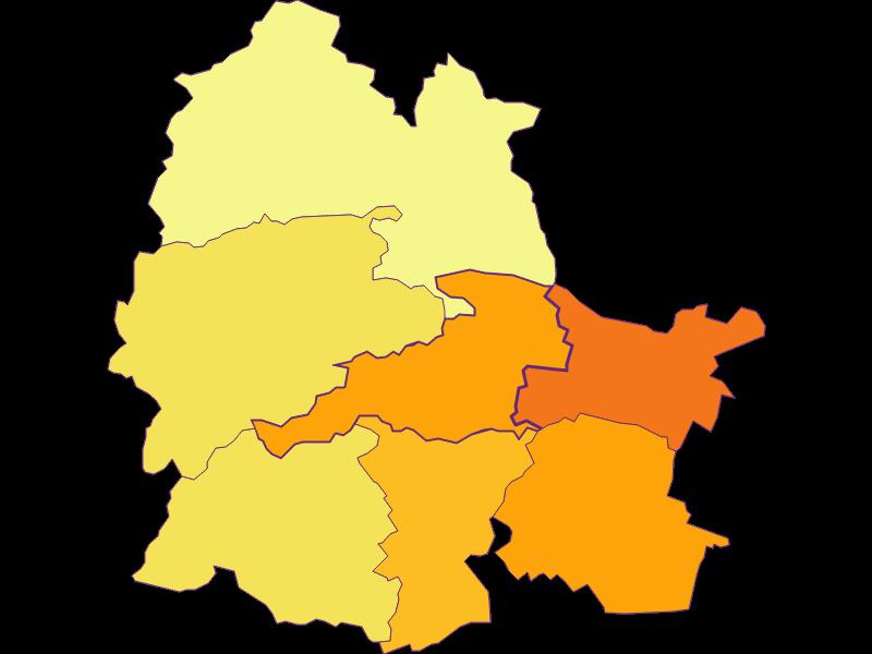 Population density in Markt Piesting