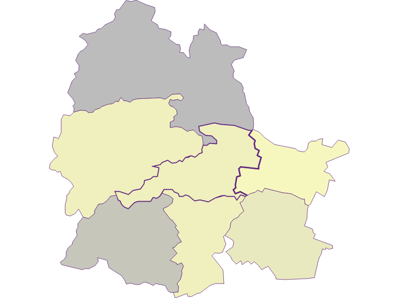 Farmers (comparison to federal state) in Markt Piesting