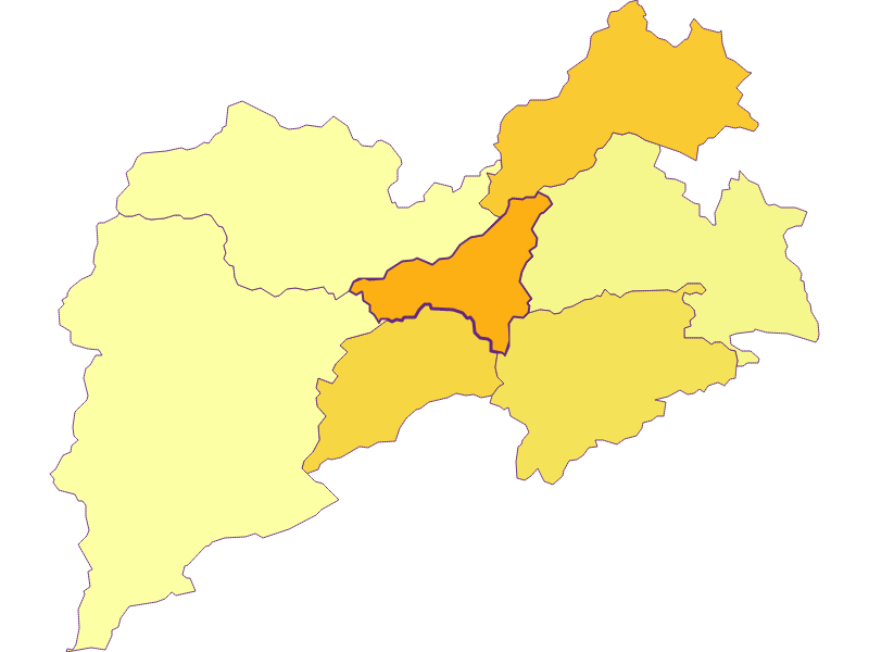 Population density in Pernitz
