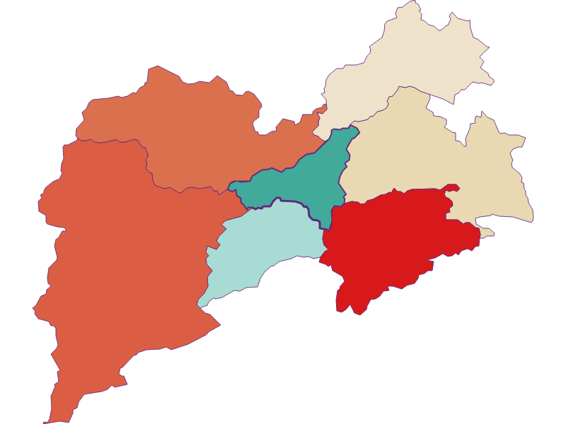 Population development since 1869 in Pernitz