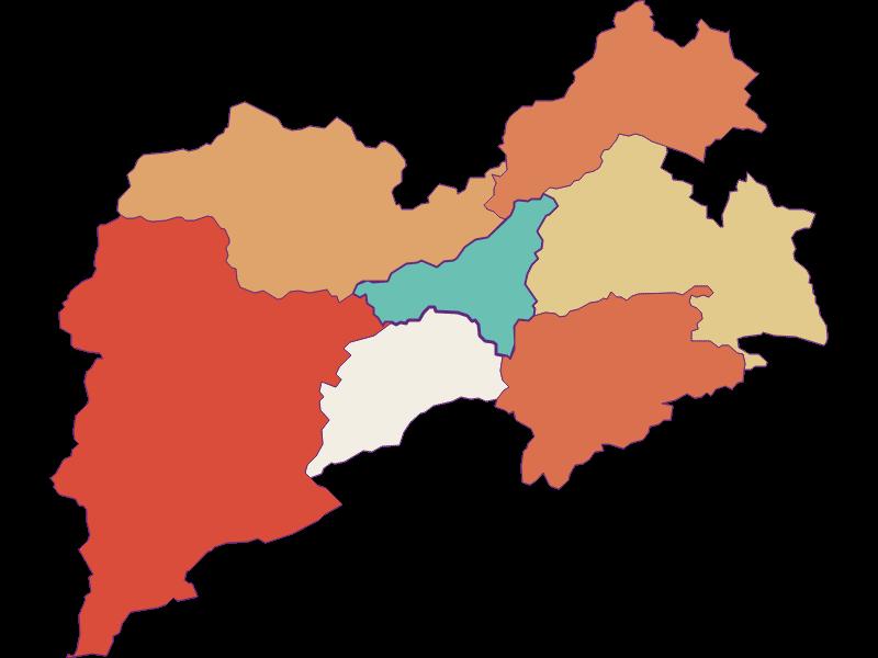 Population development since 1900 in Pernitz