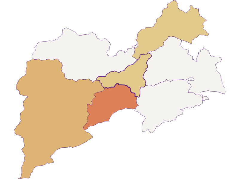 Population development since 2011 in Pernitz