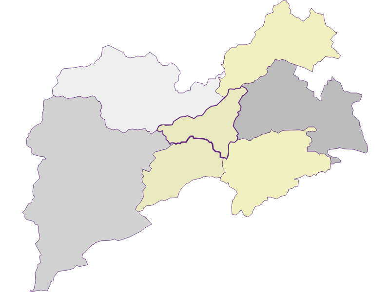Farmers (comparison to federal state) in Pernitz