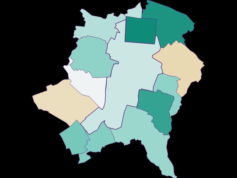 Демография с 1900 года в Wiener Neustadt