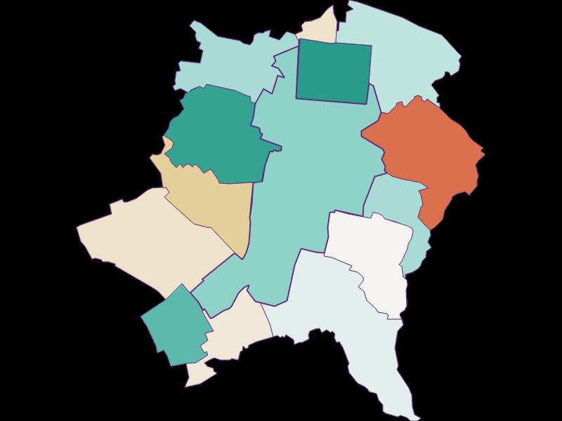 Демография с 2011 года в Wiener Neustadt