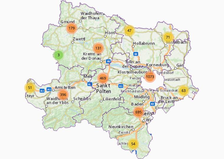 Buffet/Snacks in Lower Austria