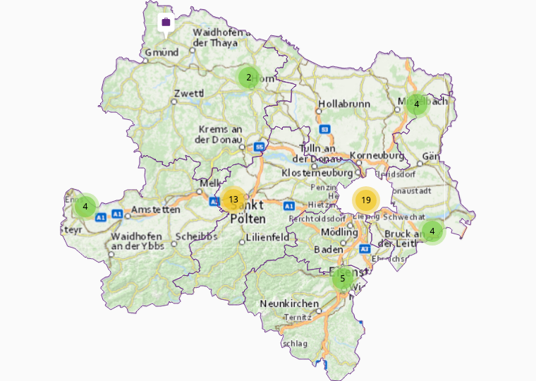 Services in Lower Austria