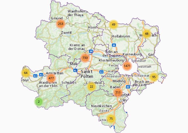 Wholesale goods in Lower Austria