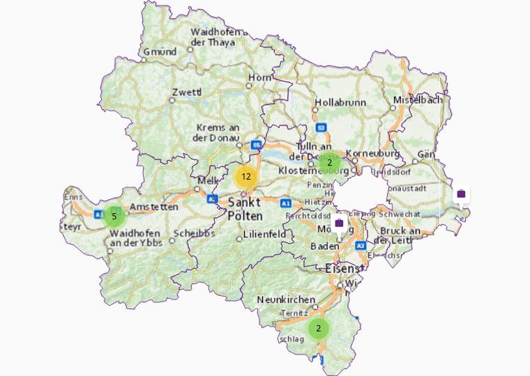 Organizers in Lower Austria