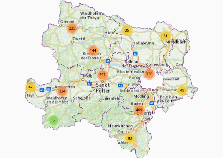 Nahrung / Genuss in Niederösterreich