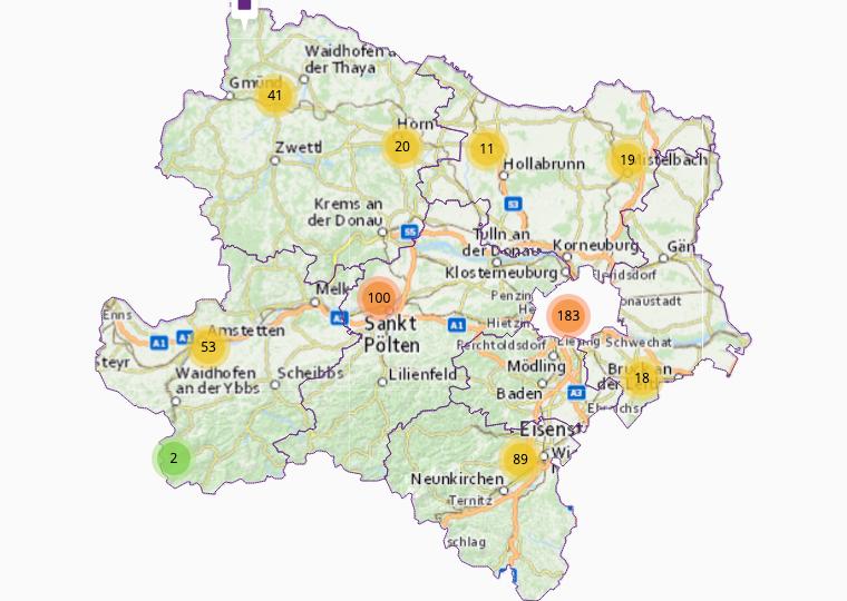 Electrics & electronics in Lower Austria