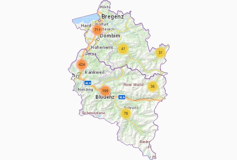 Freizeit in Vorarlberg