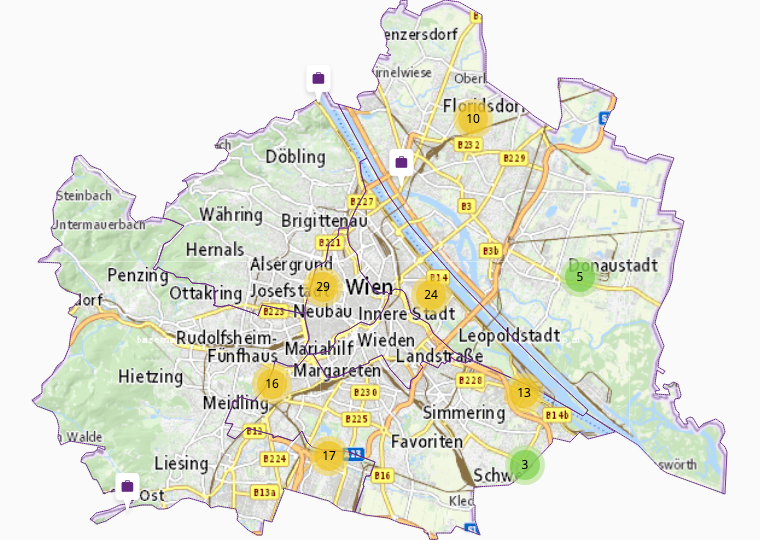 Grundstoffe в Вена