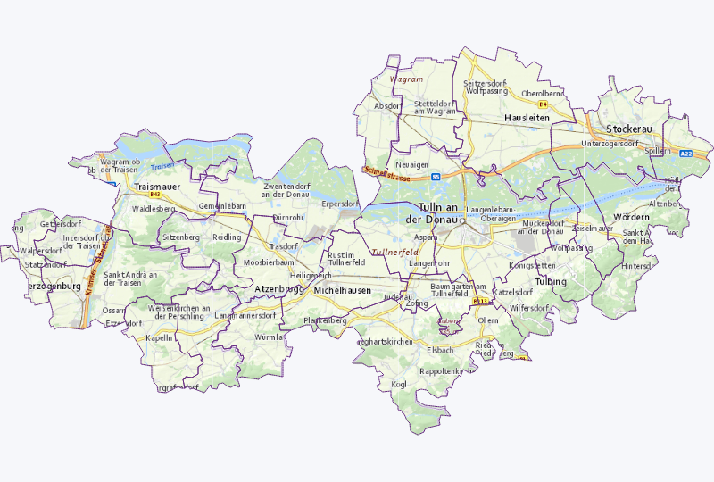 Information Kommunikation in Herzogenburg-, Tulln-, Stockerauer Gebiet