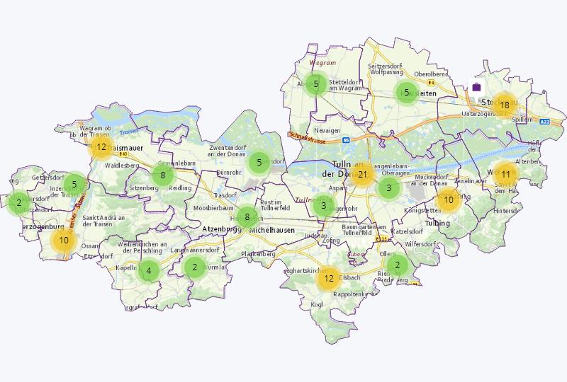 Nahrung / Genuss in Herzogenburg-, Tulln-, Stockerauer Gebiet