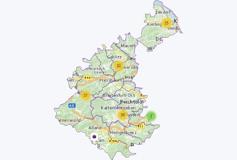 Land & Forst in Östlicher Wienerwald
